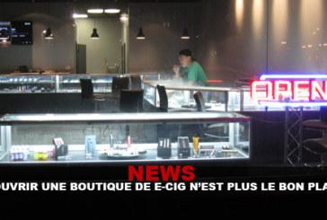 חדשות: פתיחת חנות e-cigs כבר לא רעיון נכון!