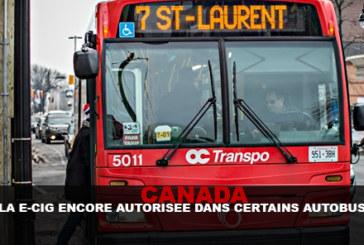 CANADA: l'e-cig è ancora permessa in alcuni autobus!