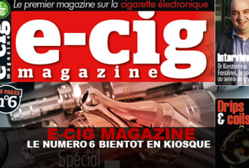 E-CIG MAGAZINE: The 6 number soon on newsstands!