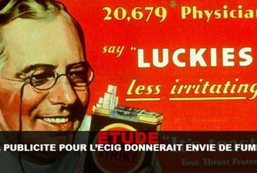 STUDIO: la pubblicità per e-cigs ti farebbe venire voglia di fumare!