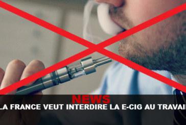 NEWS: France wants to ban e-cigs at work!