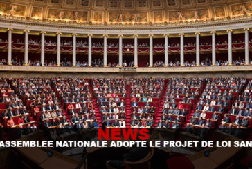 NEWS : L'assemblée nationale adopte le projet loi santé !