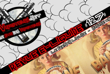 Recensione di E-Liquid #127 - THE LIQUID FRANCESE - BANANA CHOC (FR)