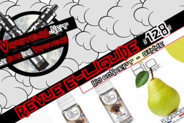 Recensione E-Liquid #128 - BIO CONCEPT - RANGE (FR)