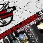 E- נוזלי סקירה #130a - ALFALIQUID - סיפור אפל (EN)