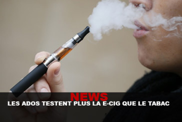 NEWS: Teenagers test e-cigs more than tobacco ...