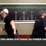 E- CIG: חדשות מטרו מתמודד עם כוח vaping!