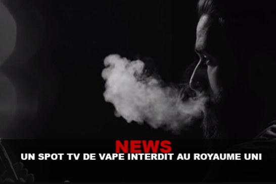 חדשות: נקודת טלוויזיה Vape מוחרם בבריטניה!