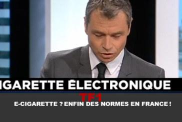 TF1: Электронная сигарета? Наконец, стандарты во Франции!