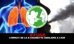 STUDY: The impact of e-cig similar to air on the respiratory system!