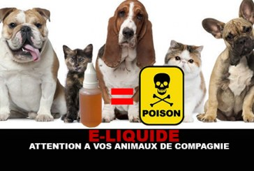 E-LIQUID: Watch out for your pets!