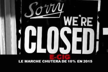E-CIG: השוק ייפול מ 10 ל 2015!