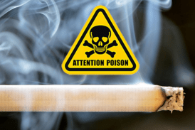 TOBACCO: The use of poisons contained in cigarettes!