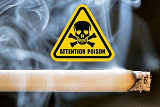 טבק: השימוש ברעלים הכלולים בסיגריות!