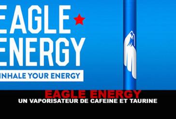 EAGLE ENERGY: קפאין, טאורין ותרסיס ג'ינסנג.