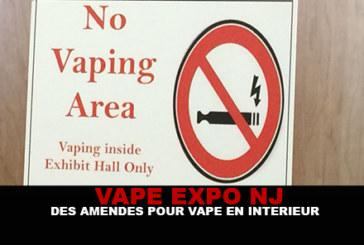 EXPO USA : Des amendes pour avoir vapé à l'intérieur !
