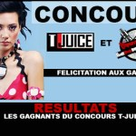 תוצאות: הזוכים בתחרות T-Juice!