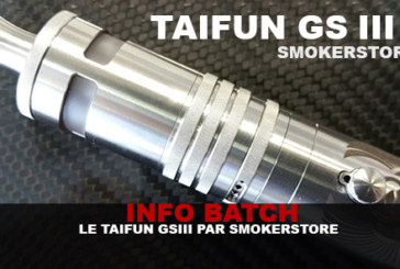 INFORMAZIONI SULLE LOTTE: The Taifun GSIII (Smokerstore)