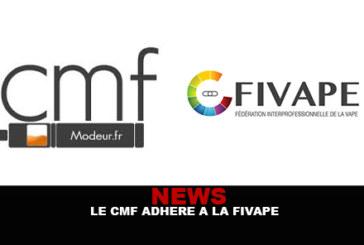 NEWS : Le CMF adhère à la FIVAPE !