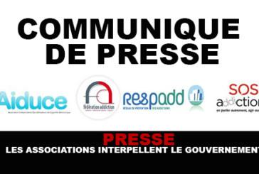 PRESSE : Les associations interpellent le gouvernement !