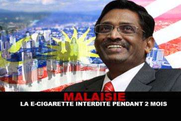 MALAISIE : La e-cigarette interdite pendant 2 mois…