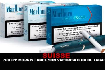 SWITZERLAND: Philip Morris launches his tobacco vaporizer ...