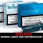 SUISSE : Philip Morris lance son vaporisateur de tabac…