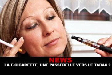 News: The e-cigarette, a gateway to tobacco?