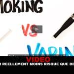 VIDEO : Vapoter réellement moins risqué que de fumer ?