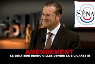 Amendement : Le sénateur Bruno Gilles défend la e-cigarette !