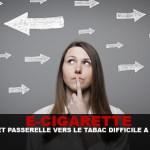 E-CIG: אפקט שער לטבק קשה להוכיח.