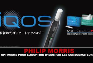 PHILIP MORRIS : Optimisme pour l'adoption d'IQOS par les consommateurs.