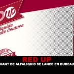 RED-UP: היצרן של Alfaliquid מתחיל חנות טבק!