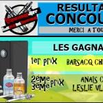 RESULTAT : Concours Bordo2 / Vapoteurs.net