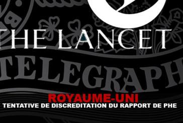 R-U : Tentative de discréditation du rapport du PHE