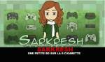 SARKRESH:电子烟上的小漫画!
