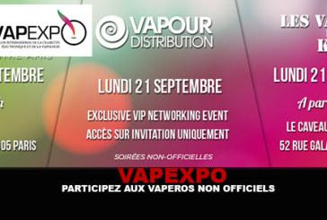 VAPEXPO: Take part in unofficial vapors!