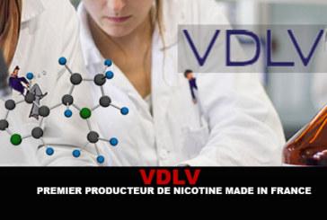 VDLV : Premier producteur de nicotine «Made in France»