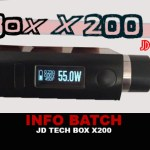 INFO BATCH : Box X-200 Dna200 (JD TECH)