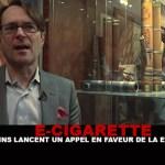 E-CIG : 120 médecins lancent un appel en faveur de la e-cigarette !