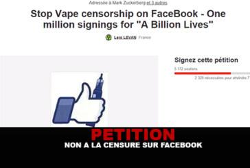 PETITION : Non a la censure sur facebook !