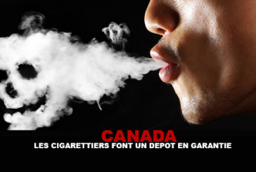 CANADA: Tobacco companies make a deposit as security for tobacco victims!