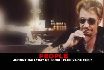 אנשים: ג'וני Hallyday כבר לא vaper?