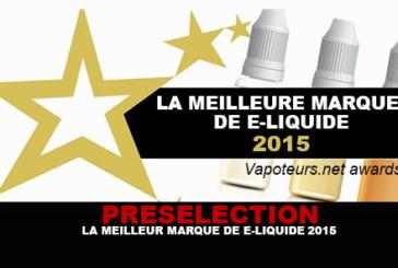 PRESELECTION:电子液体2015的最佳品牌!