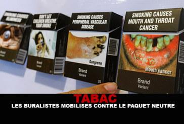 TABAC : Les buralistes mobilisés contre le paquet neutre !