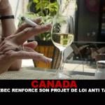 КАНАДА: Квебек укрепляет свой законопроект о борьбе с курением!