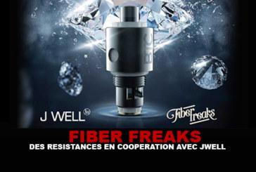 FIBER FREAKS : Des résistances en coopération avec JWell.