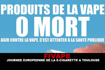 FIVAPE: European e-cigarette day in Toulouse.