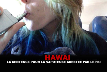 HAWAI: The sentence for the vapoteuse arrested by the FBI in September.
