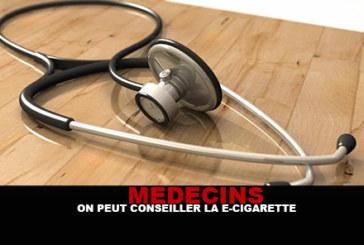 MEDECINS : «On peut conseiller la e-cigarette»